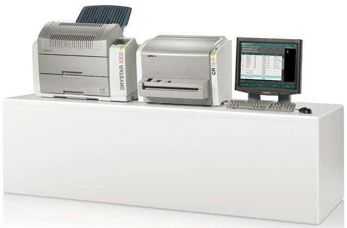 Standard CR screen phosphor screen scanner